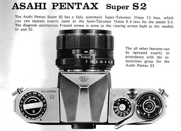Asahi Pentax s2
