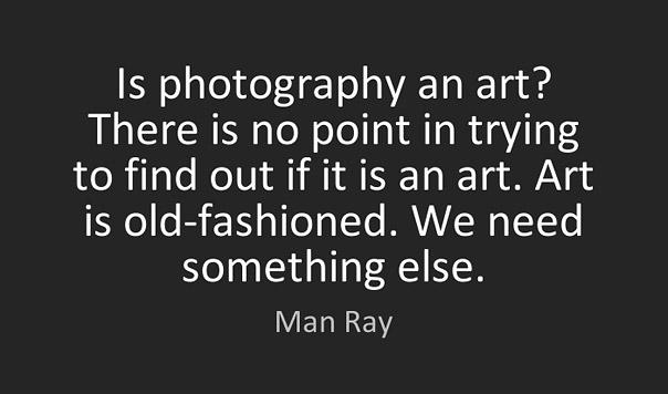 Είναι η Φωτογραφία τέχνη; Man Ray