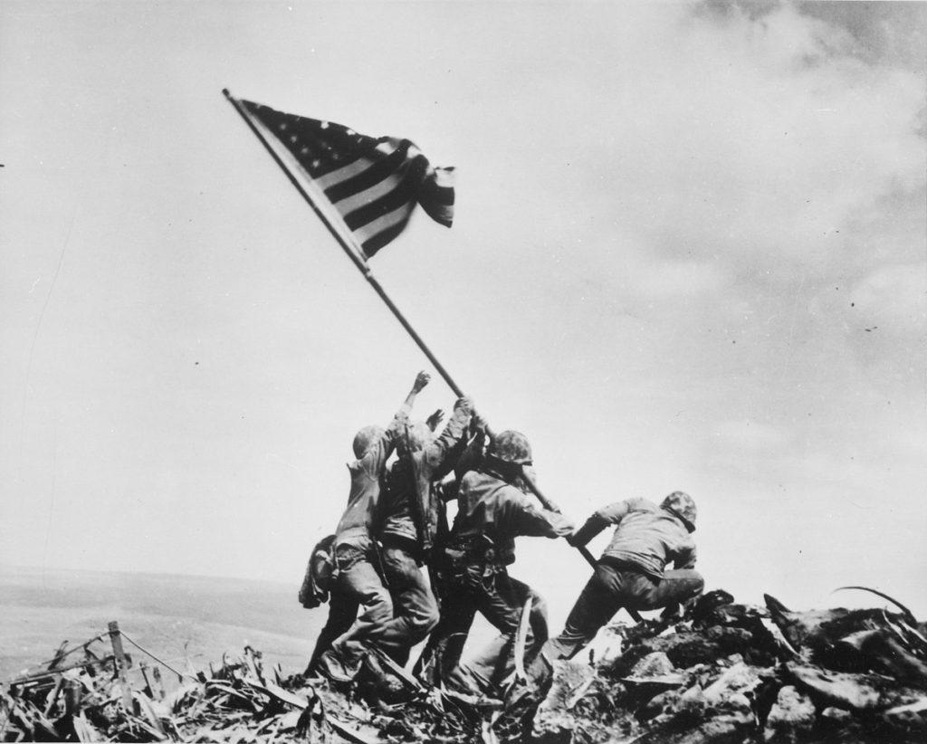 Η Αμερικάνικη Σημαία στην Ιβοζίμα