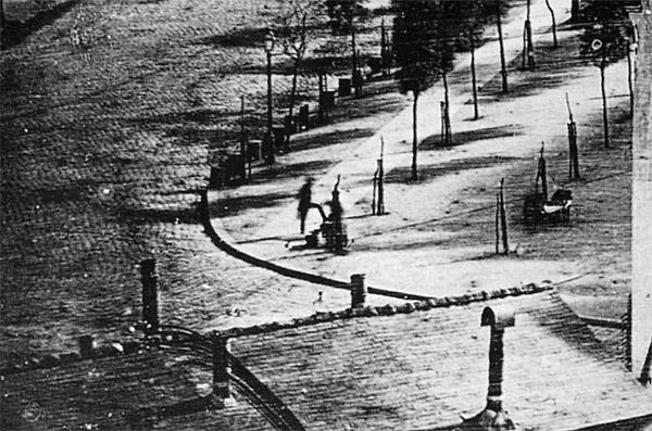 Οι πρώτοι άνθρωποι σε φωτογραφία το 1838