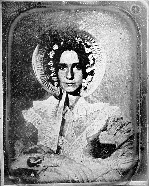 Το πρώτο Φωτογραφικό πορτραίτο 1840