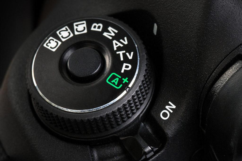 Λειτουργία έκθεσης Α στην φωτογραφική μηχανή