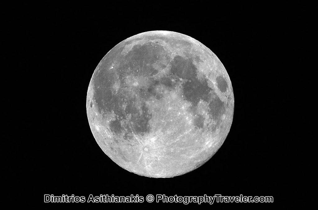 Φωτογραφίστε το φεγγάρι