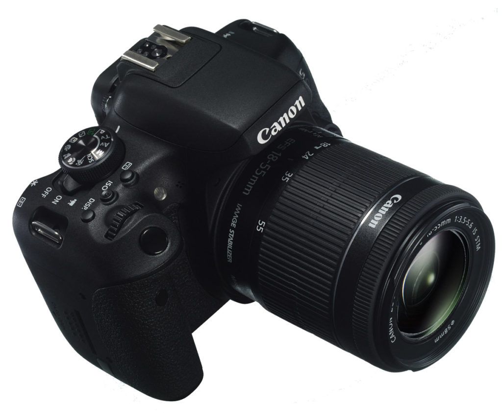 Canon EOS 750D Φωτογραφική Μηχανή DSLR
