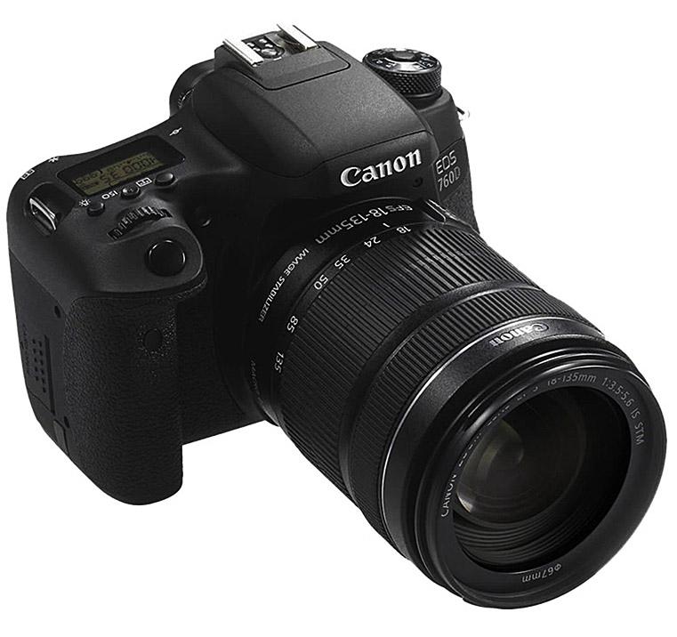 Canon EOS 760D  Φωτογραφική Μηχανή DSLR