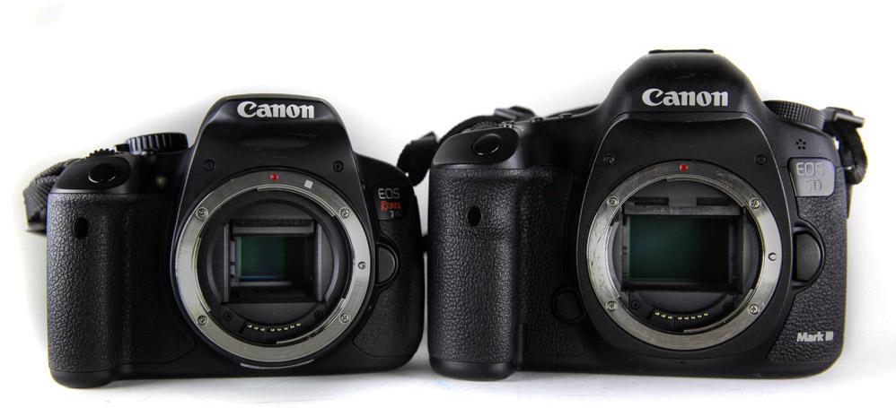 Crop και Full Frame αισθητήρες στις DSLR φωτογραφικές μηχανές
