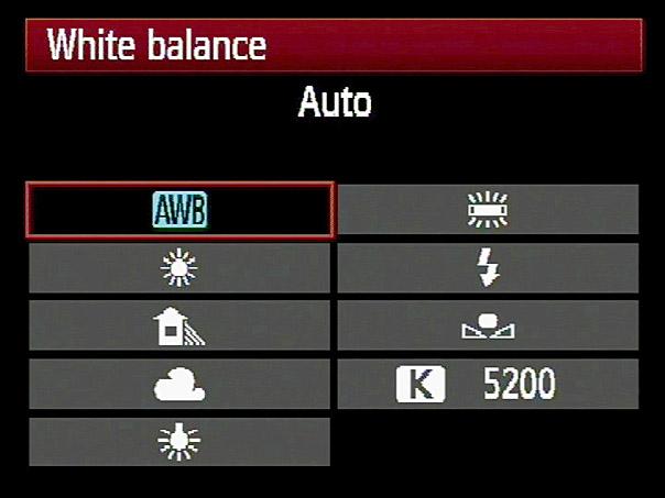 Ισορροπία Λευκού (White Balance)