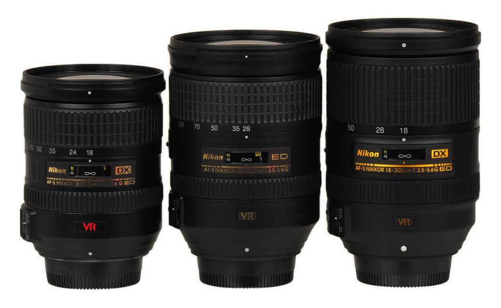 Φωτογραφικοί Φακοί για  Crop και για Full Frame φωτογραφικές μηχανές