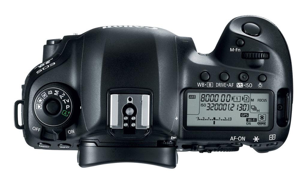 Canon EOS 5D Mark iv Ψηφιακή Φωτογραφική Μηχανή DSLR