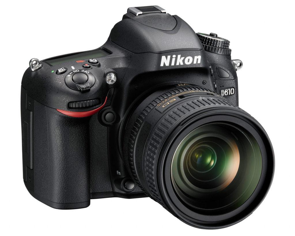 Nikon D610 Ψηφιακή Φωτογραφική Μηχανή DSLR
