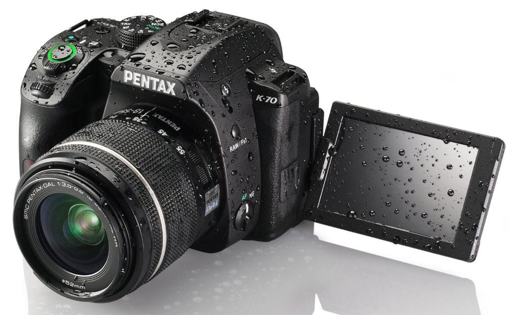 Pentax K-70 Ψηφιακή Φωτογραφική Μηχανή DSLR