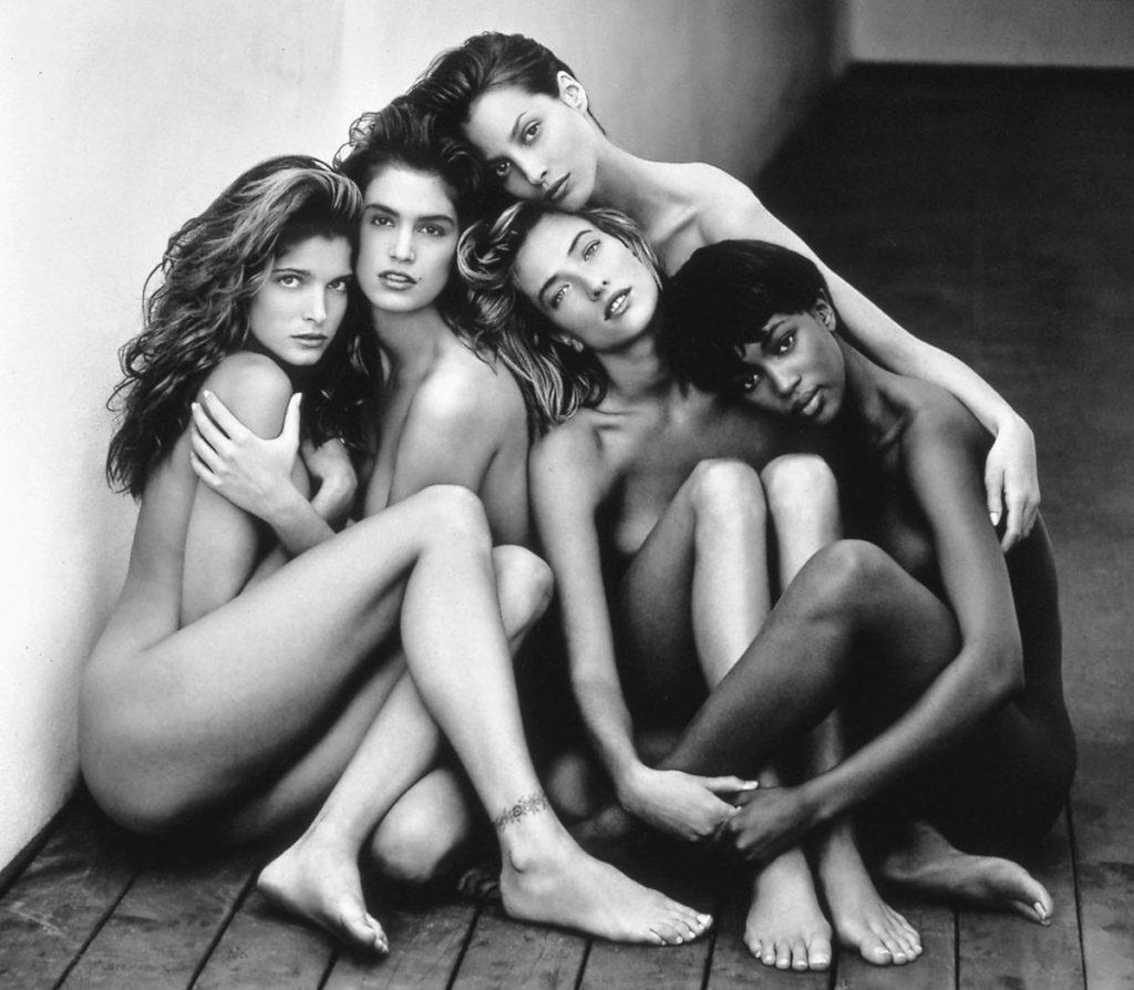 Τρεις φωτογραφίσεις γυμνού