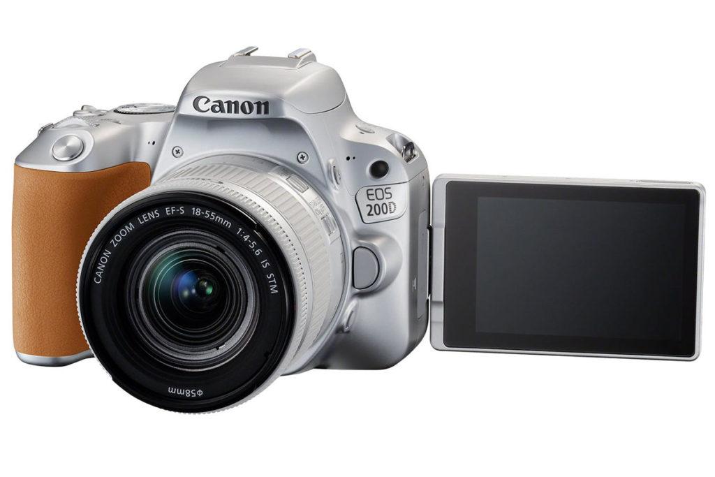 Canon EOS 200D Ψηφιακή Φωτογραφική Μηχανή DSLR