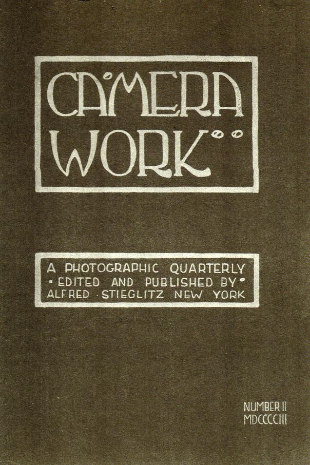 Camera Work Περιοδικό Φωτογραφίας