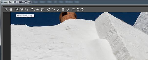 Ρύθμιση της  ισορροπίας λευκού (White Balance) στο Adobe Photoshop Camera Raw